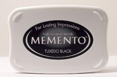 Tsukineko - BS Tuxedo Black Memento Dye Ink Pad