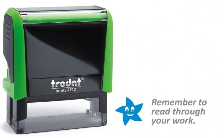 Trodat Classmate Self-Inking - Remember 2C 4912