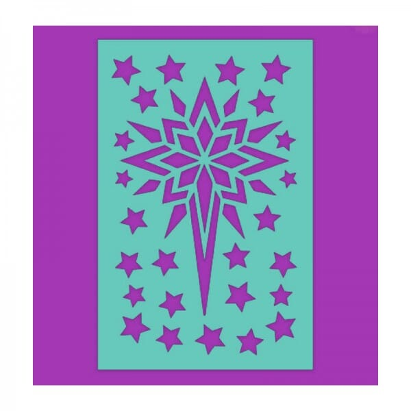 Sue Dix Designs - Star of Wonder Stencil