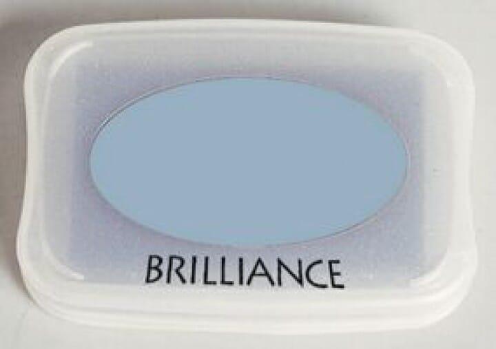 Tsukineko - Pearlescent Ice Blue Brilliance Pad