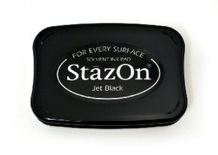 Tsukineko - BS Jet Black StazOn Ink Pad