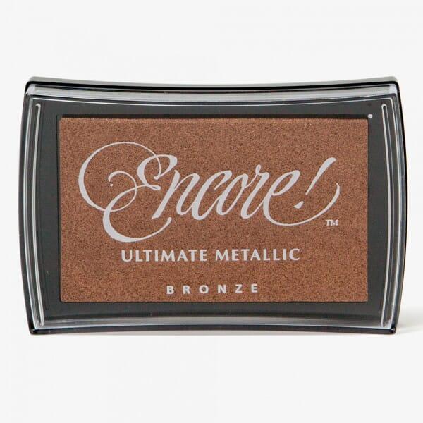 Tsukineko - Ultimate Metallic Bronze Pad