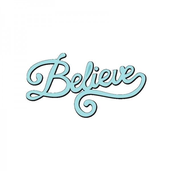 Sue Dix Designs - Believe Mini Dies