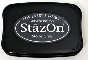 Tsukineko - Stone Grey StazOn Pad