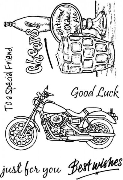 Sweet Dixie - Sweet Dixie Mens 1 Clear Stamps