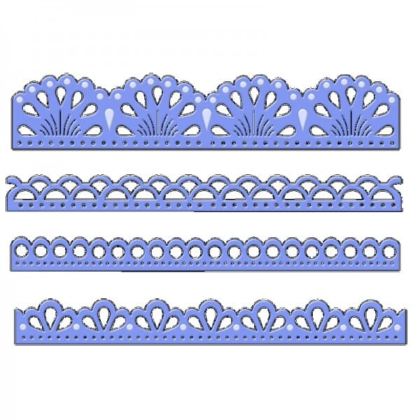 Sue Dix Designs - Elegant Borders Everyday Metal Dies