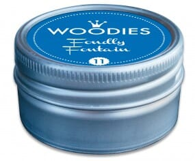 Woodies stamp pad Foundly Fontain