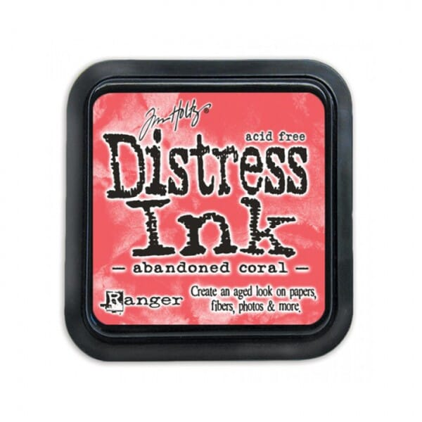 Ranger Ink - February Distress Ink Pad Abandoned Coral