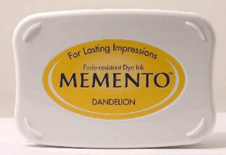 Tsukineko - Dandelion Memento Ink Pad