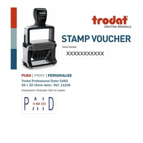 Stamp Vouchers & Gift Cards