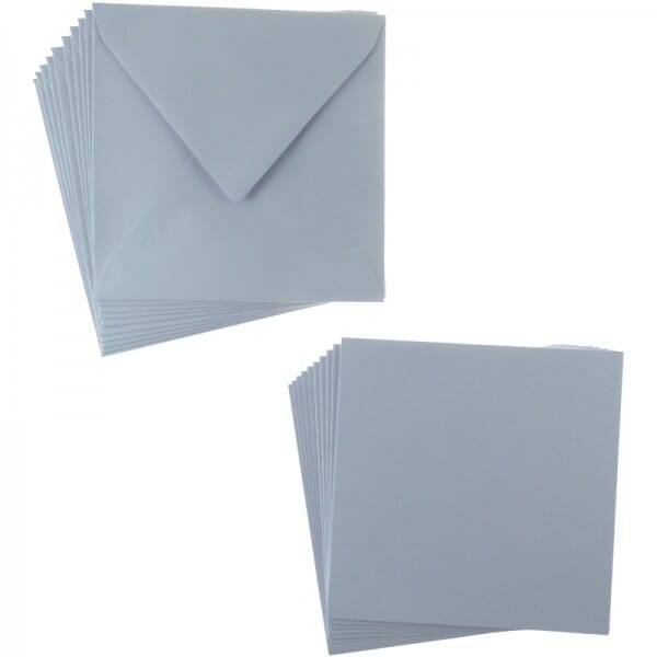 Sweet Dixie Lilac Square Card and Envelope Packs (10)