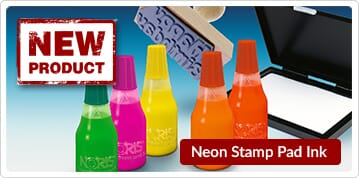 neon Stamp Pad Ink