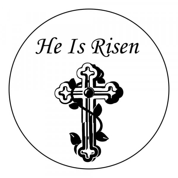 Craft Stamp - He is Risen