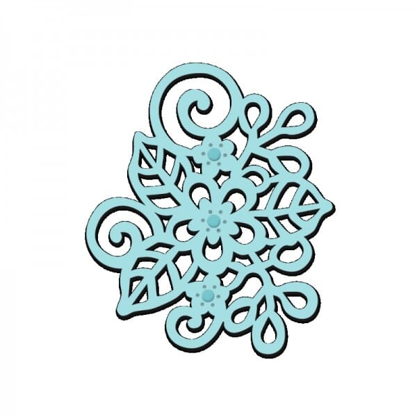Sue Dix Designs - Floral Motif Mini Dies