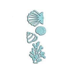 Sue Dix Designs - Seashells & Seaweed Sweet Dixie Die