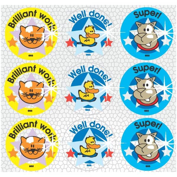 Stickers - sparkling - Brilliant work!