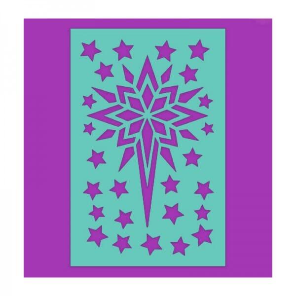 Sue Dix Designs - Star of Wonder Stencil