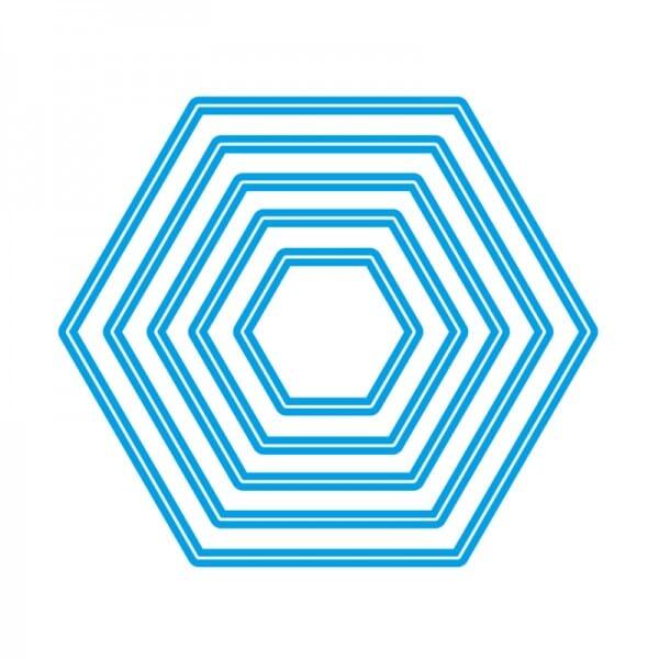 Sweet Dixie Nesting Hexagon Dies