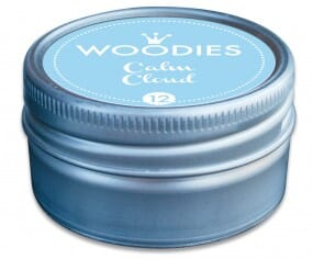Woodies stamp pad Calm Cloud