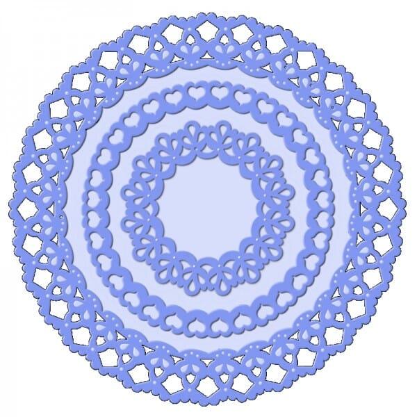 Sue Dix Designs - Decotaive Circular Frames Everyday Metal Dies