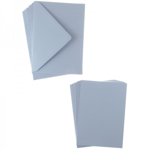 Sweet Dixie Lilac A6 Card and Envelope Packs (10)