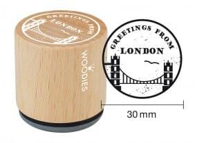 Woodies stamp Greetings 2
