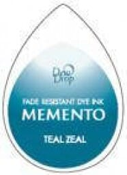 Tsukineko - BS Teal Zeal Memento Dew Drop Pad