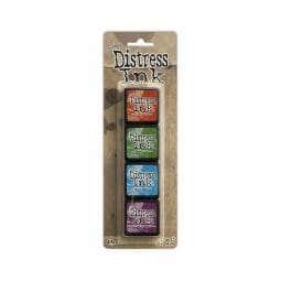 Ranger Ink - Tim Holtz Distress Ink Minis Kit 2 - Sold in one strip of 4 pads