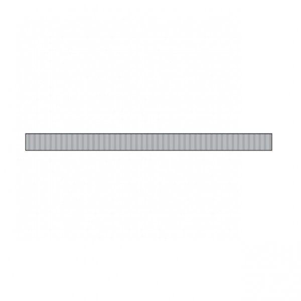 Little B - Little B Silver Foil Grosgrain 3mm x 20m Tape