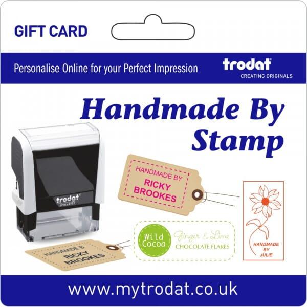 Trodat Handmade Stamp Gift Card