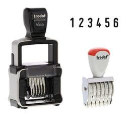 Standard Number Stamps
