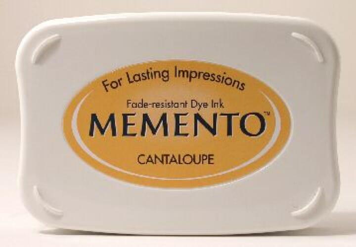 Tsukineko - Cantaloupe Memento Ink Pad