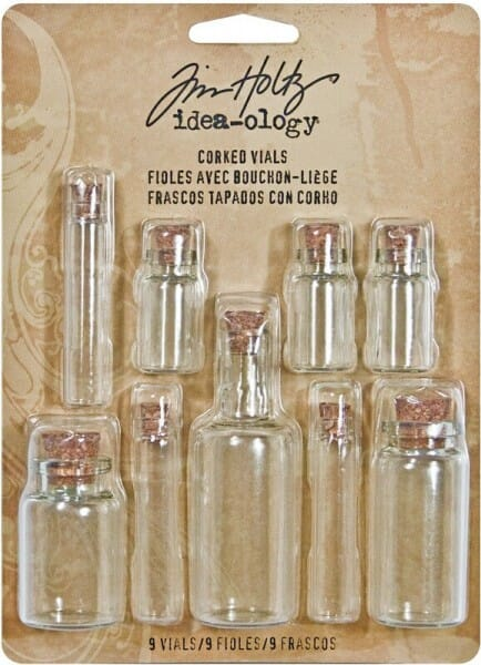 Tim Holtz idea-ology - Corked Vials