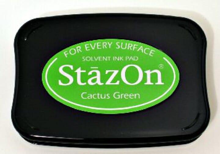 Tsukineko - Cactus Green Staz On Pad