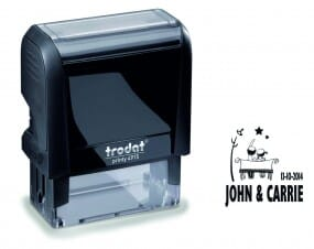 Trodat Save the Date Stamp