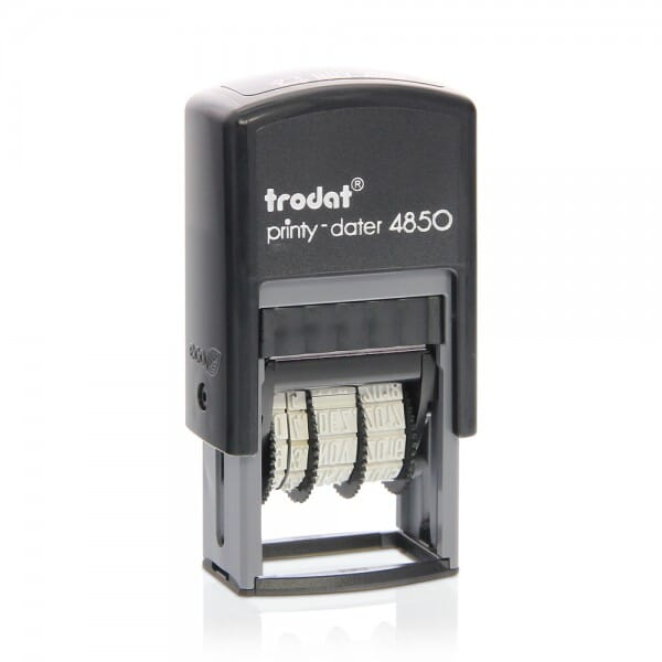 Trodat EcoPrinty 4850L9 - Faxed + 3.8 mm date