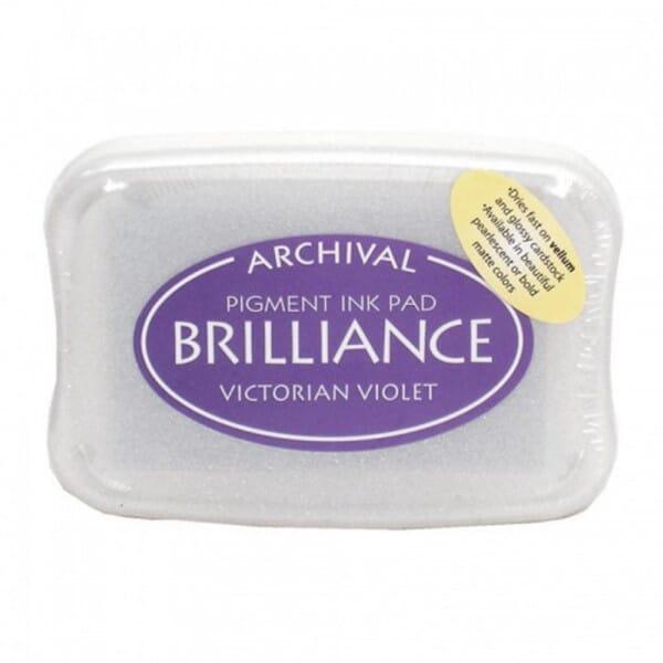 Tsukineko - Victorian Violet Brilliance Pad