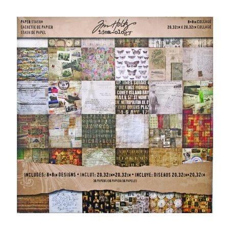 Tim Holtz idea-ology - Collage Mini Stash
