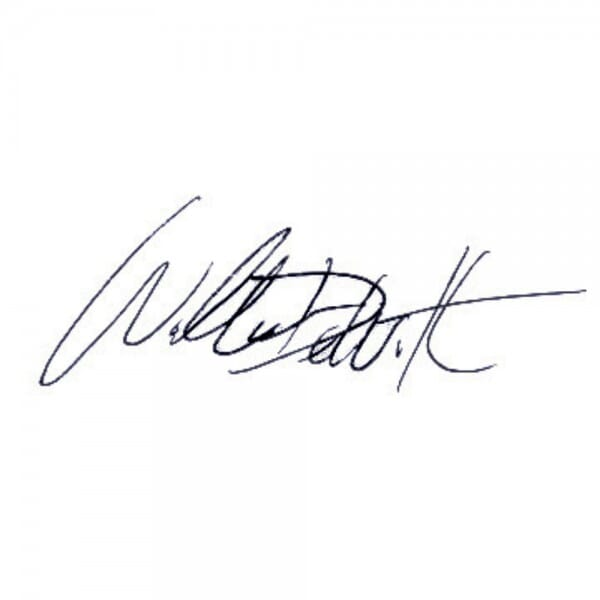 Signature Stamp Small
