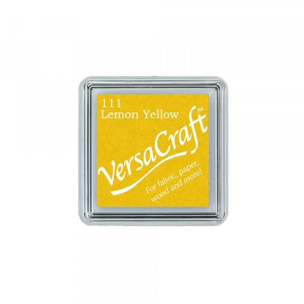 Tsukineko - Lemon Yellow Versacraft Small Pad