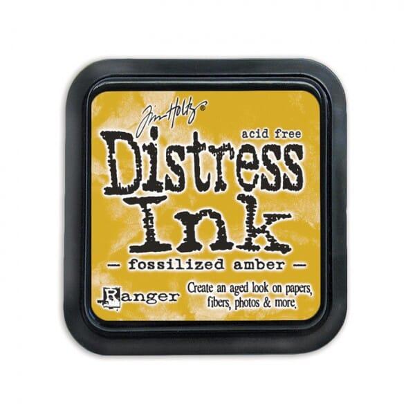 Ranger Ink - April Distress Ink Pad - Fossilised Amber
