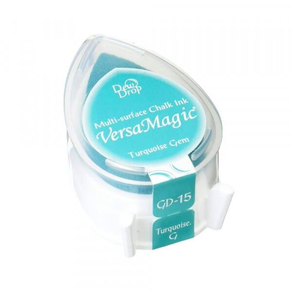 Tsukineko - Turquoise Gem Versamagic Dew Drop