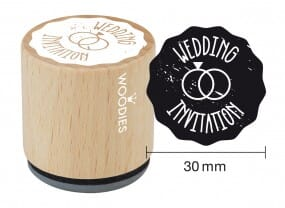 Woodies stamp Wedding invitation 2