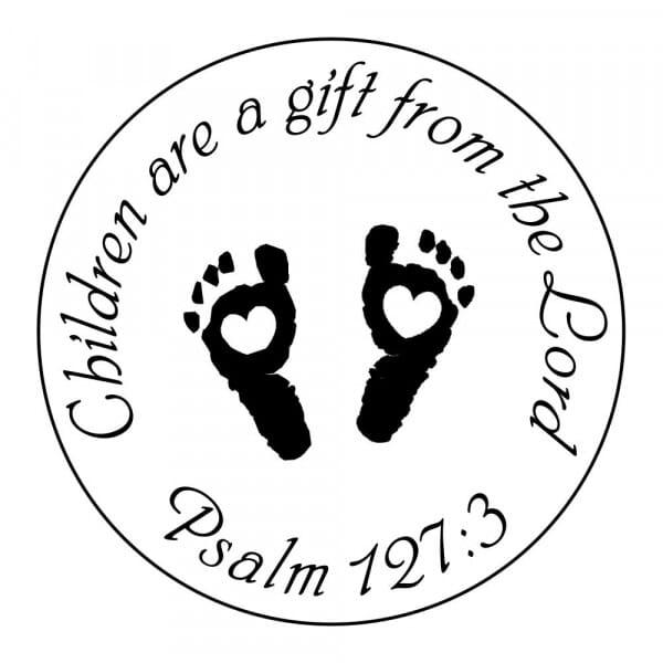 Craft Stamp - Children Are A Gift