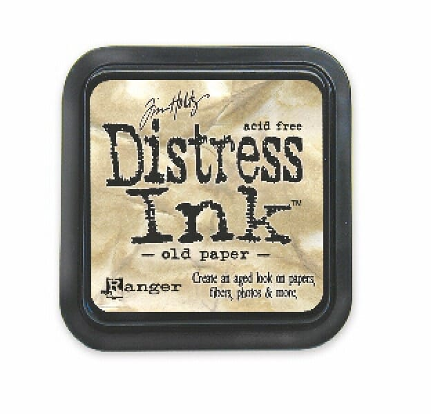 Ranger Ink - Old Paper Distress Pad