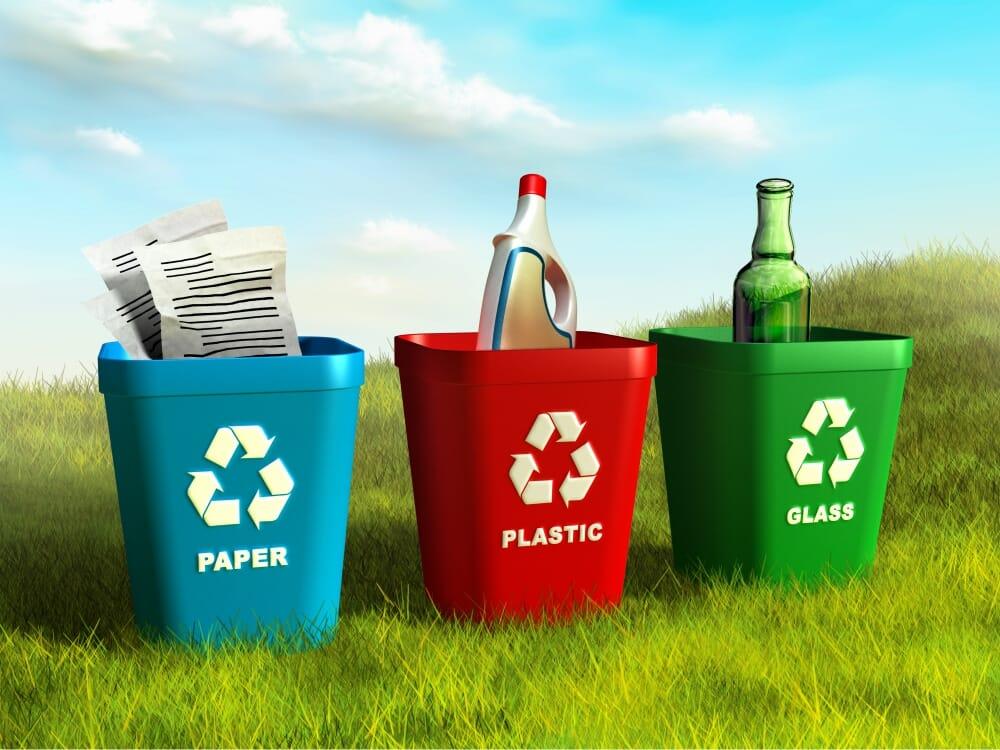 Recycling-Bins