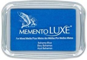 Tsukineko - Memento Luxe Bahama Blue