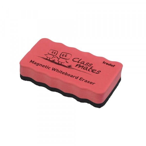 Magnetic Whiteboard Eraser - Red