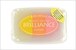 Brilliance Ink Pad 3 Colours