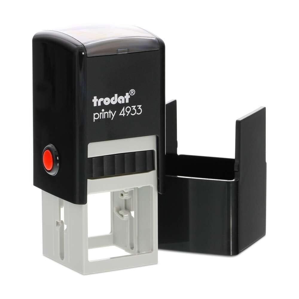4928 Printy Custom Made Bespoke Name /& Address Logo Self Inking Rubber Stamp